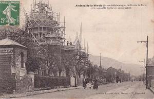 AmfrevilleAutrefois-église