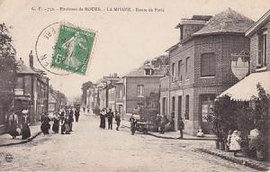 AmfrevilleAutrefois-route de paris1906