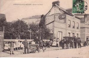 AmfrevilleAutrefois-route de paris1907