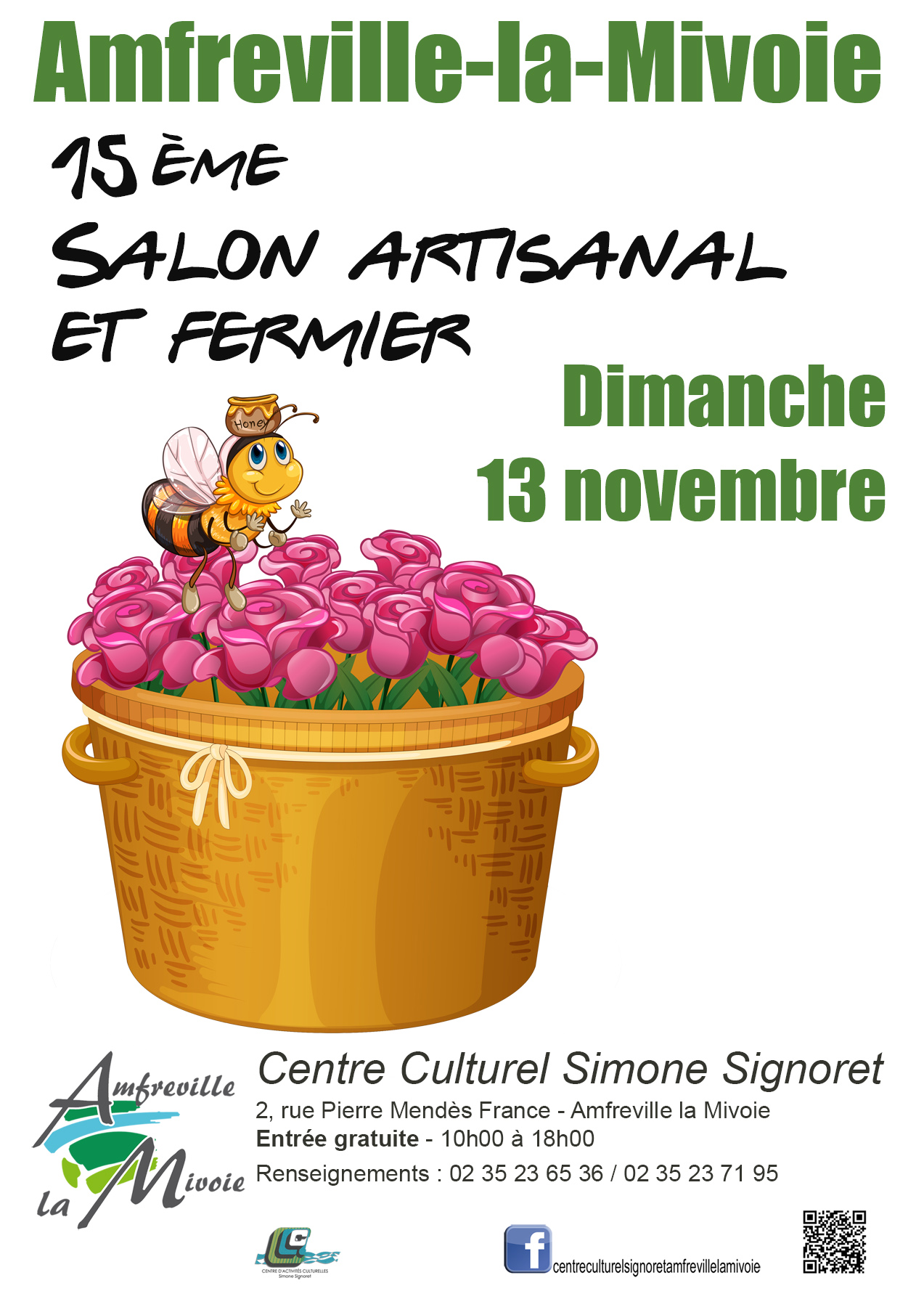 Affiche - Salon fermier 2016 - FB