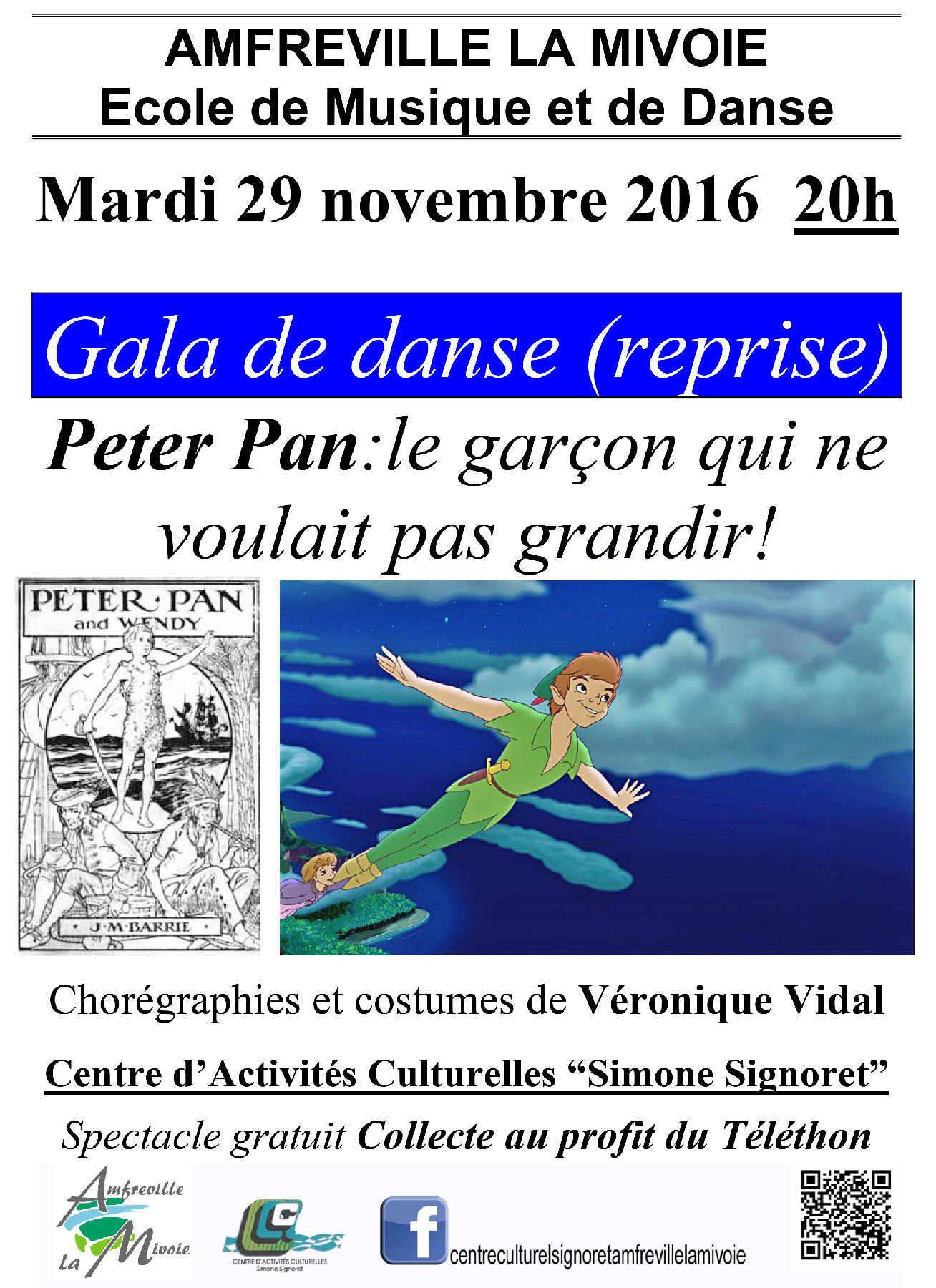 Reprise  Gala de Danse 2016