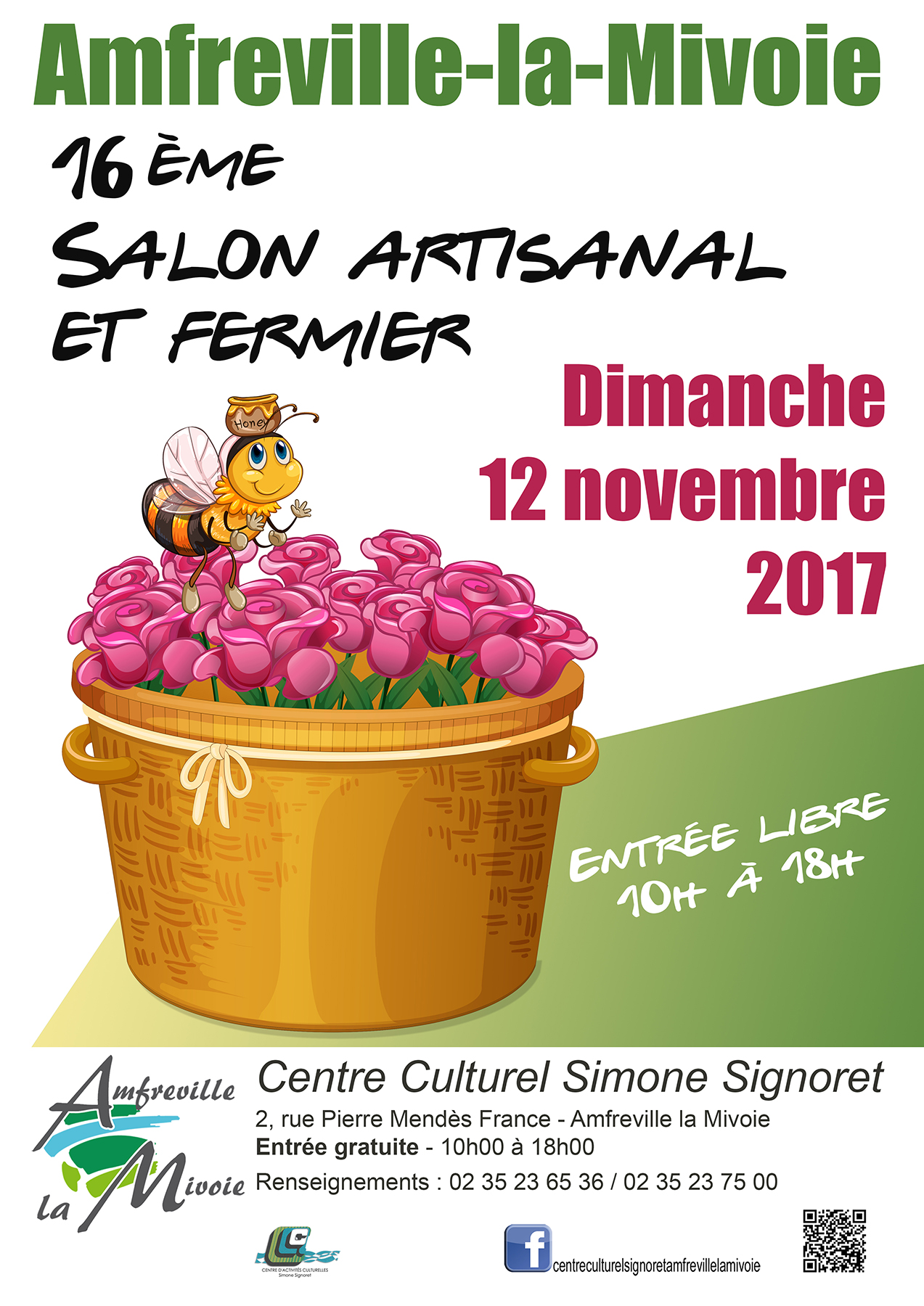 Affiche - Salon fermier 2017-FB