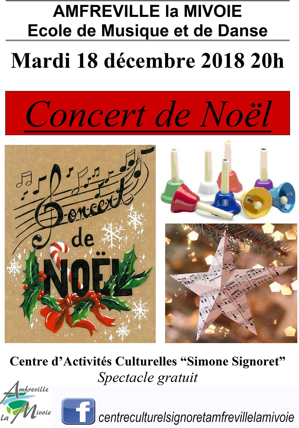 Concert de Noël 2018