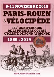 Affiche Paris-Rouen 2019