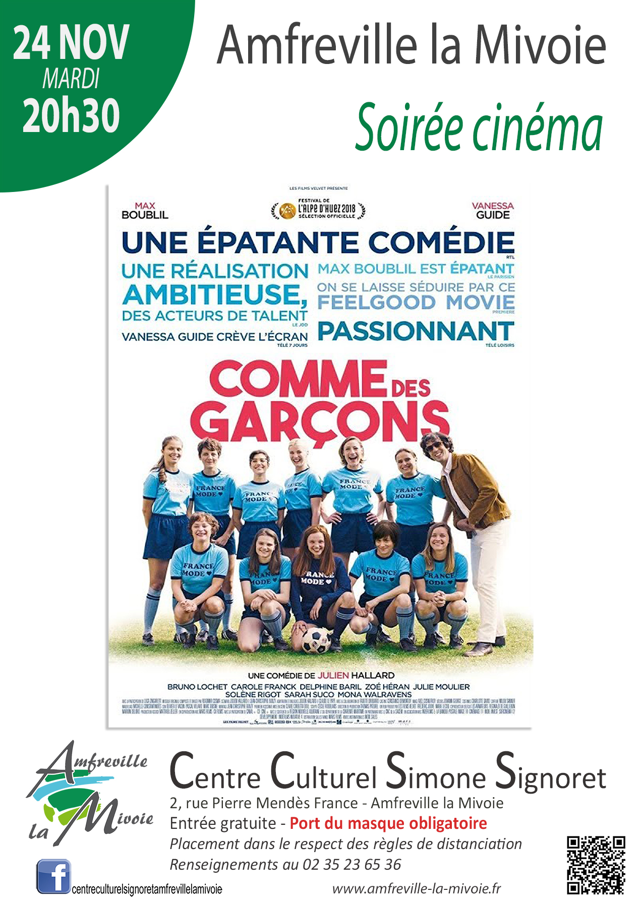 Affiche Cinéma 24 nov 2020-FB