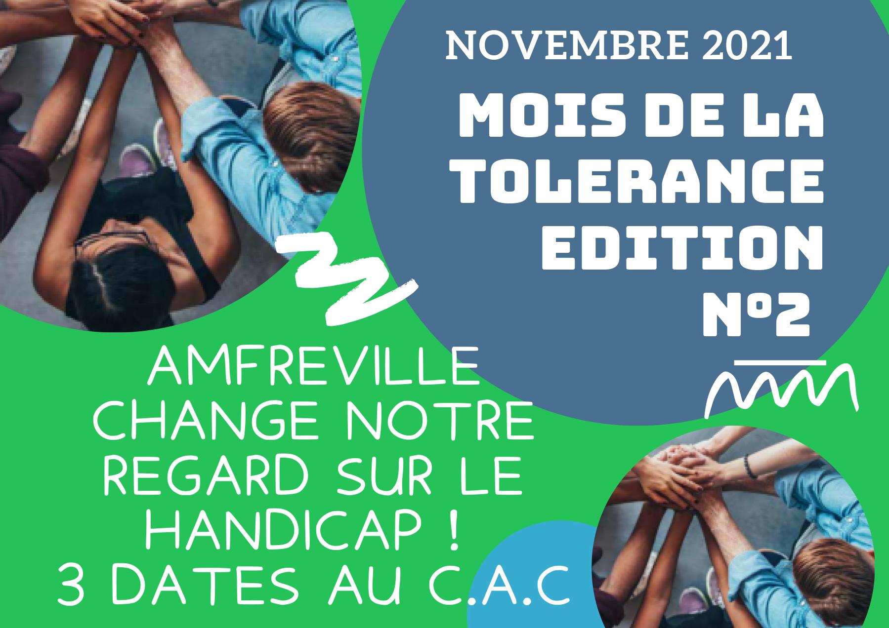 mois de la tolérance edition n°2